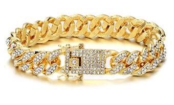 Gold Mirror Bracelet