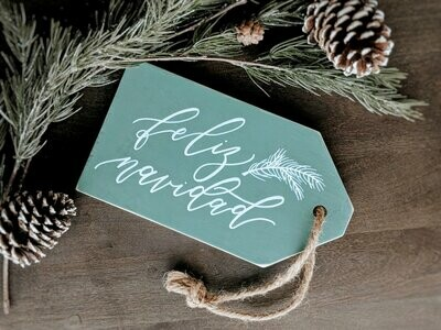 Feliz Navidad Wood Sign
