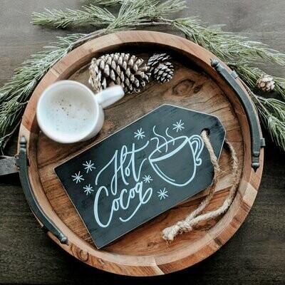 Hot Cocoa Wood Sign