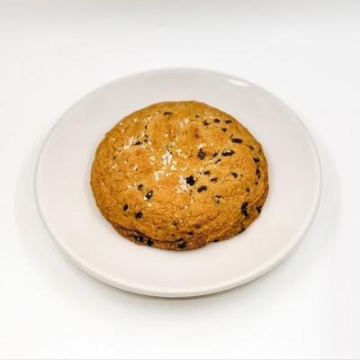 Salted Dark Chocolate Chip Cookie
