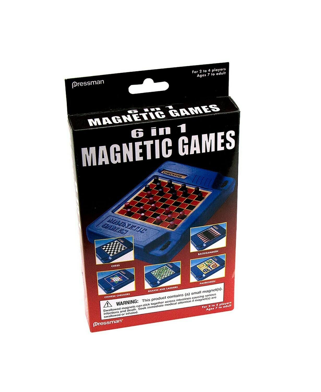 6n1 Magnetic Travel Games
