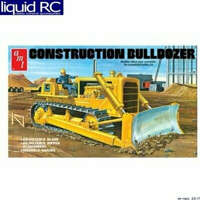 AMT Construction Bulldozer 1/25 Scale Model Kit