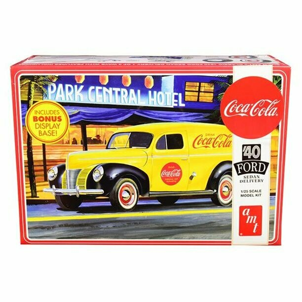 AMT '40 Ford Sedan Delivery 1/25 Scale Model Kit