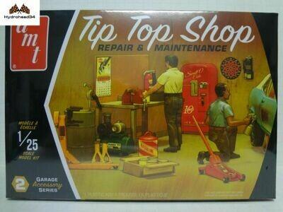 AMT Tip Top Shop 1/25 Scale Model Kit