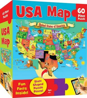 Explorer Kids USA Map