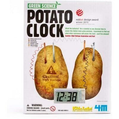 Green Science Potato Clock