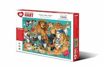 Hart Cats, Cats, Cats