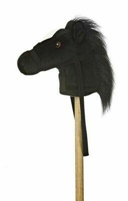 Black Giddy Up Pony