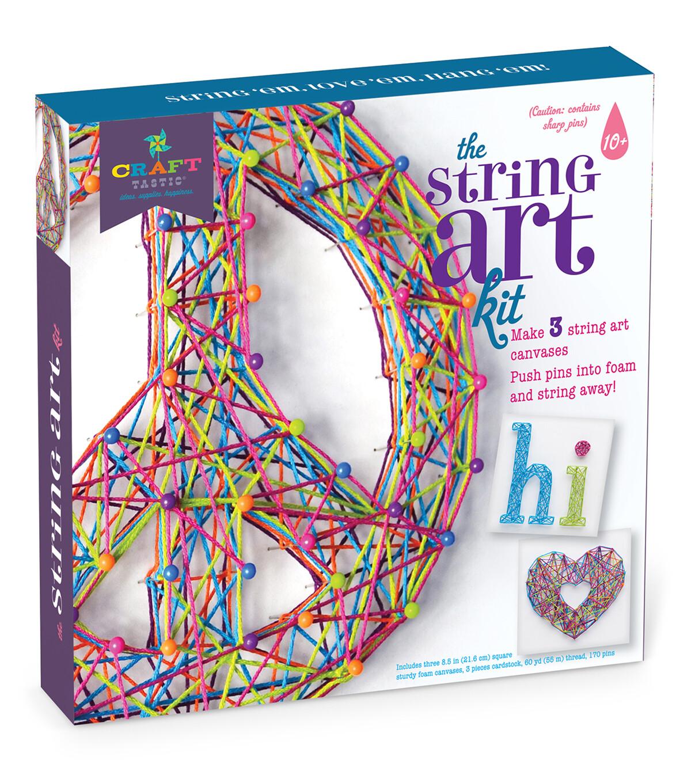 Craft-tastic String Art Kit IV