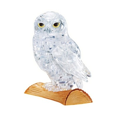 Crystal Puzzle Owl