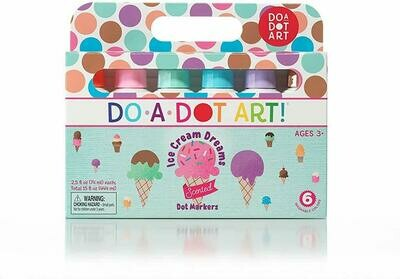 Do-a-Dot 6pk Scented Ice Cream Markers