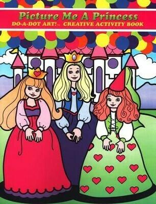 Do-a-Dot Picture Me A Princess