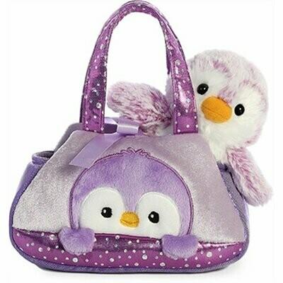 Fancy Pals Pompom Purple Penguin