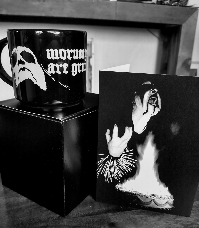 Mug + Personalized Card Gift set