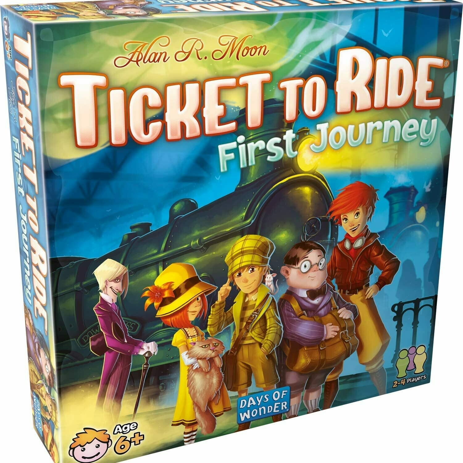 Ticket to Ride: First Journey