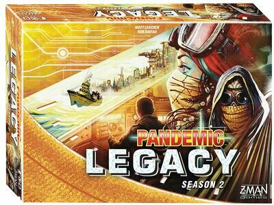 Pandemic: Legacy Season 2-Yellow