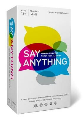 Say Anything 10th Edition