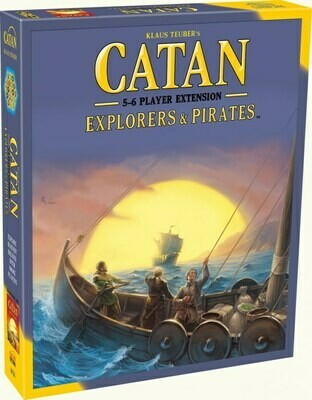 Catan, Explorers and Pirates 5 - 6 Player Extension