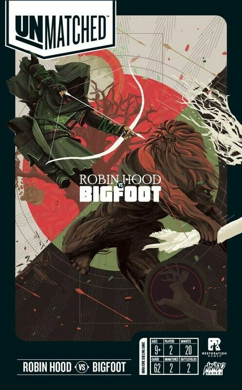 Unmatched: Robin Hood vs Bigfoot (Battle of Legends Vol. 2)