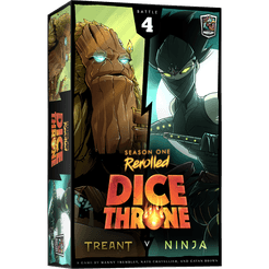 Dice Throne: S1- Box 4 - Treant vs Ninja