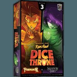 Dice Throne: S1 - Box 3 - Pyromancer vs Shadow Thief