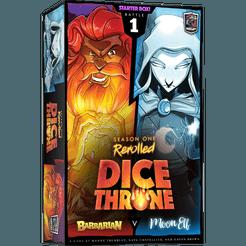 Dice Throne: S1- Box 1 - Barbarian vs Moon Elf