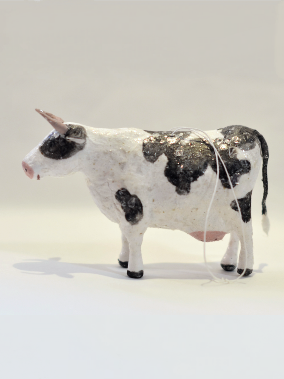 Ёлочная игрушка Корова