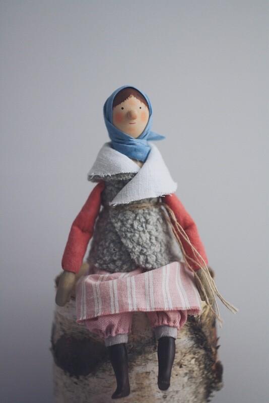 Нюра Волкова. Кукла «Оксана»