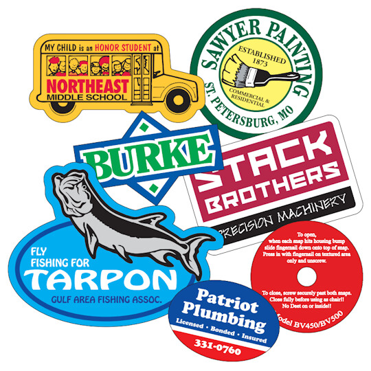 Sticker Decals (3x3 inches or less)