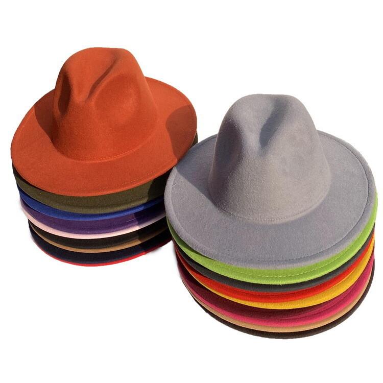 Classic Fedora Hats