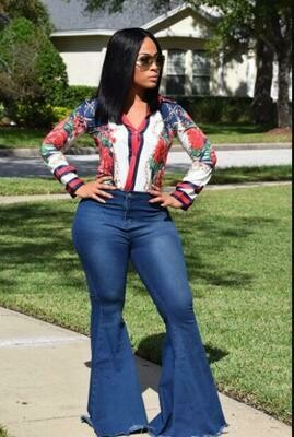 Renee Flare Denim Jeans