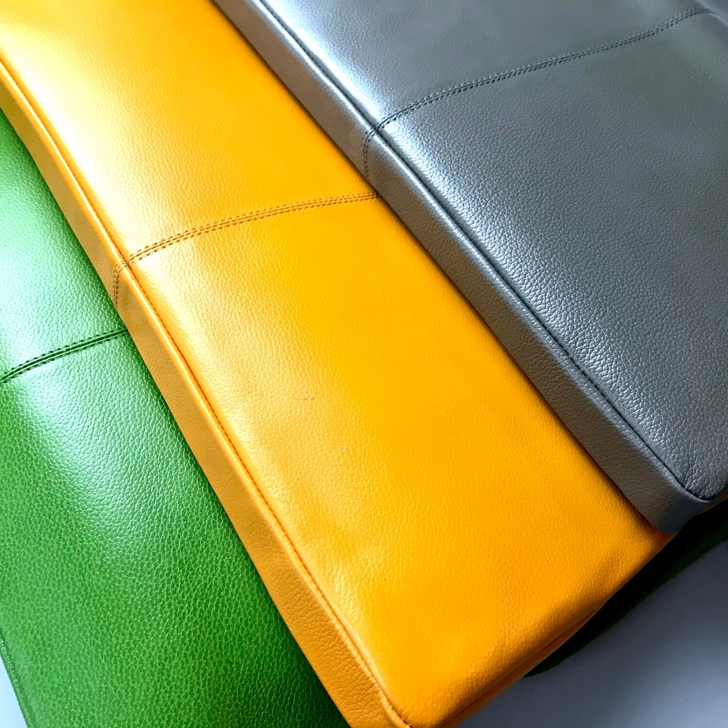 Bold Day To Night Fold-Over Leather Clutch