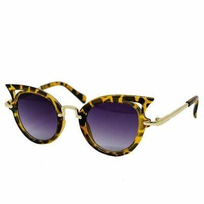 Leopard Cat Eyes Sunglasses