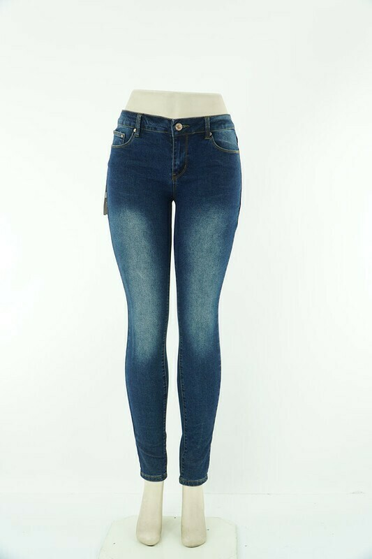 Women Basic Skinny Leg Jeans