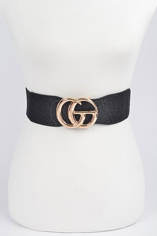 Shiny GG  Elastic Belt