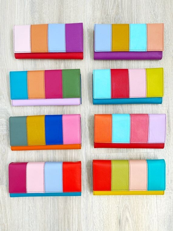 Flora Leather Wallets