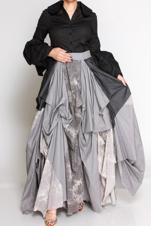 Women Saturday Vibes Maxi Skirt