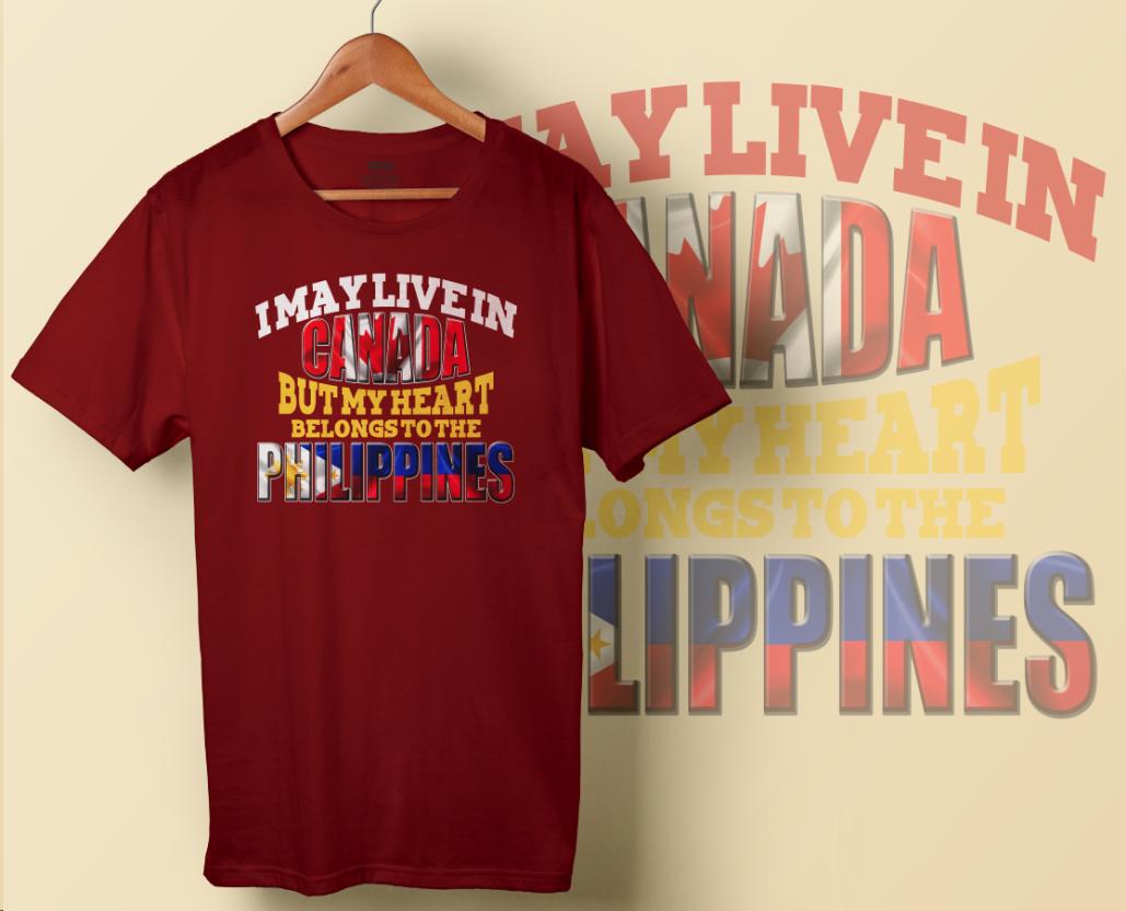 Tshirt - My Heart Belongs (Free Shipping)