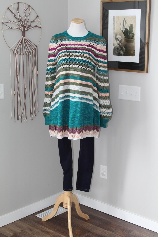 UMGEE striped sweater dress