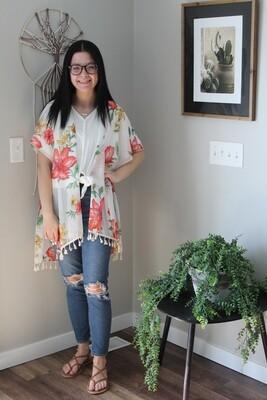 Tropical Lightweight Kimono