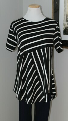 Yelete PS SS Striped Tunic