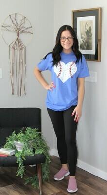 Baseball Heart Tee