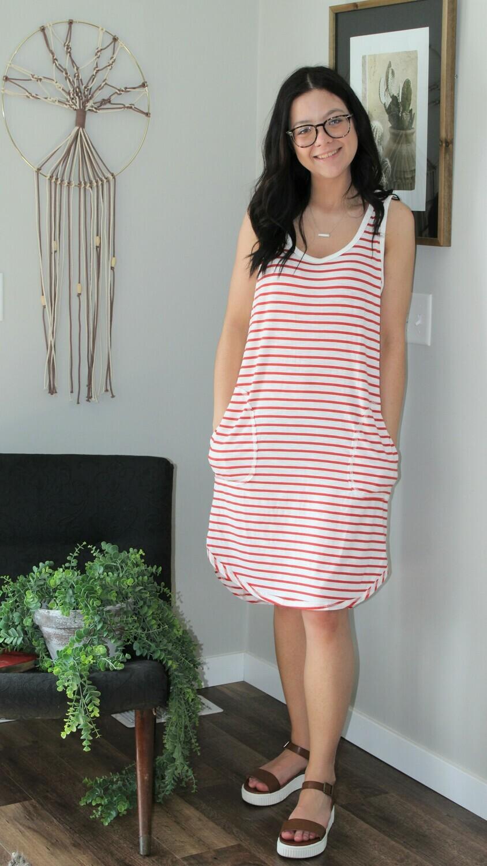 Umgee SL Striped Dress