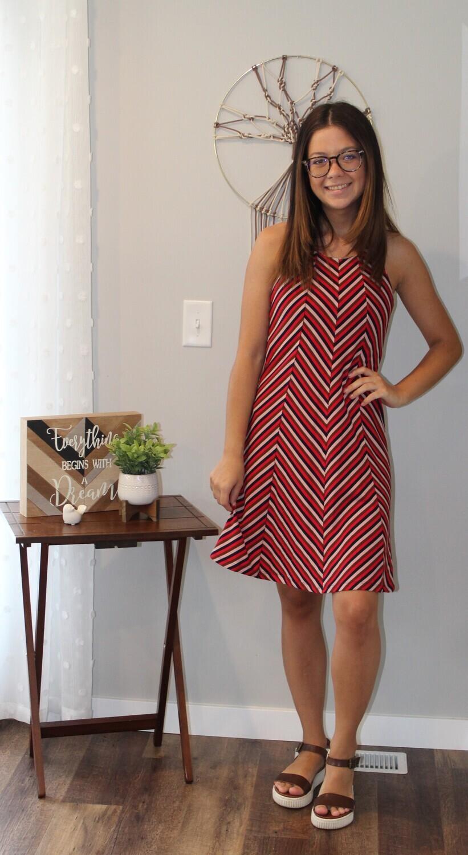 Umgee Sl Str Dress