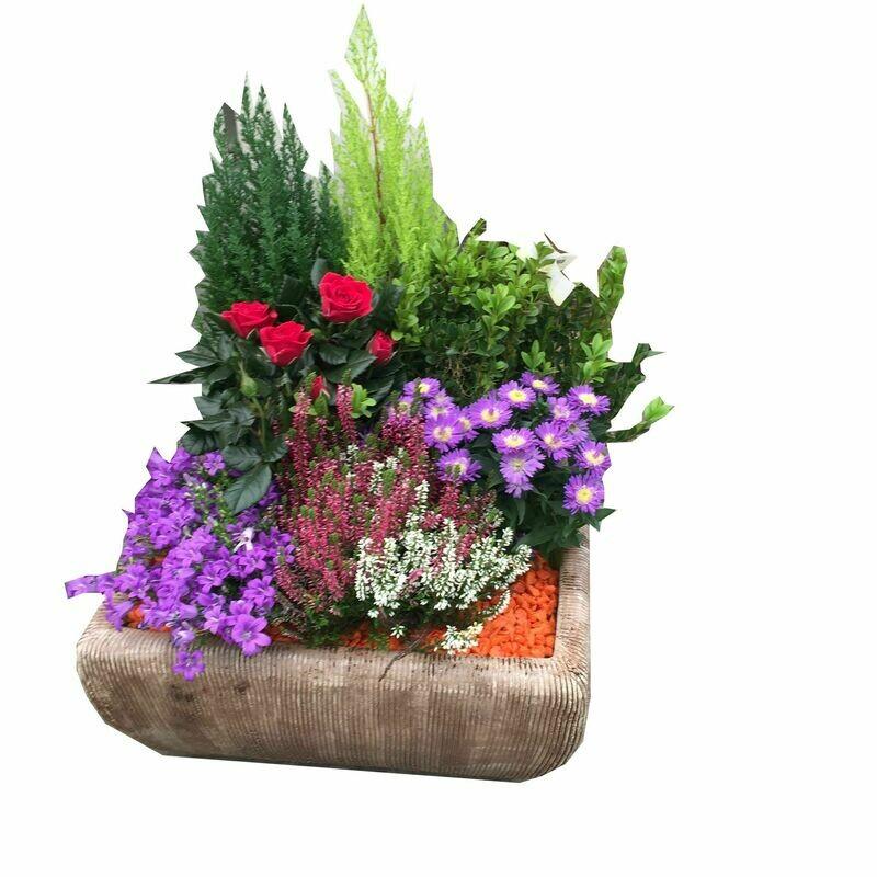 Assemblage et composition de fleurs