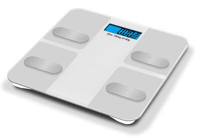 White Digital Body Scale 180Kg