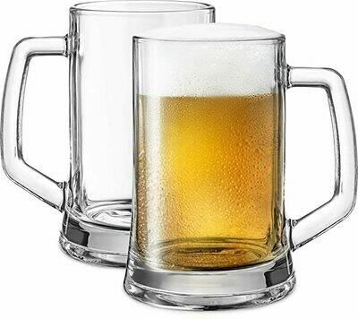 Beer Mug  Glasses 660ML 2pc-#55229