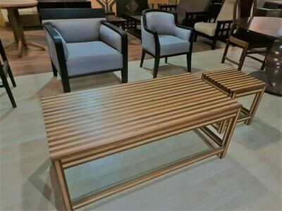 2 Piece wooden Coffee Table