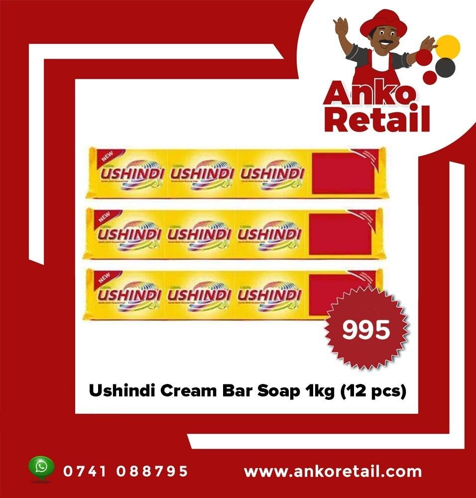 USHINDI BAR SOAP 800g 12PCS OFFER
