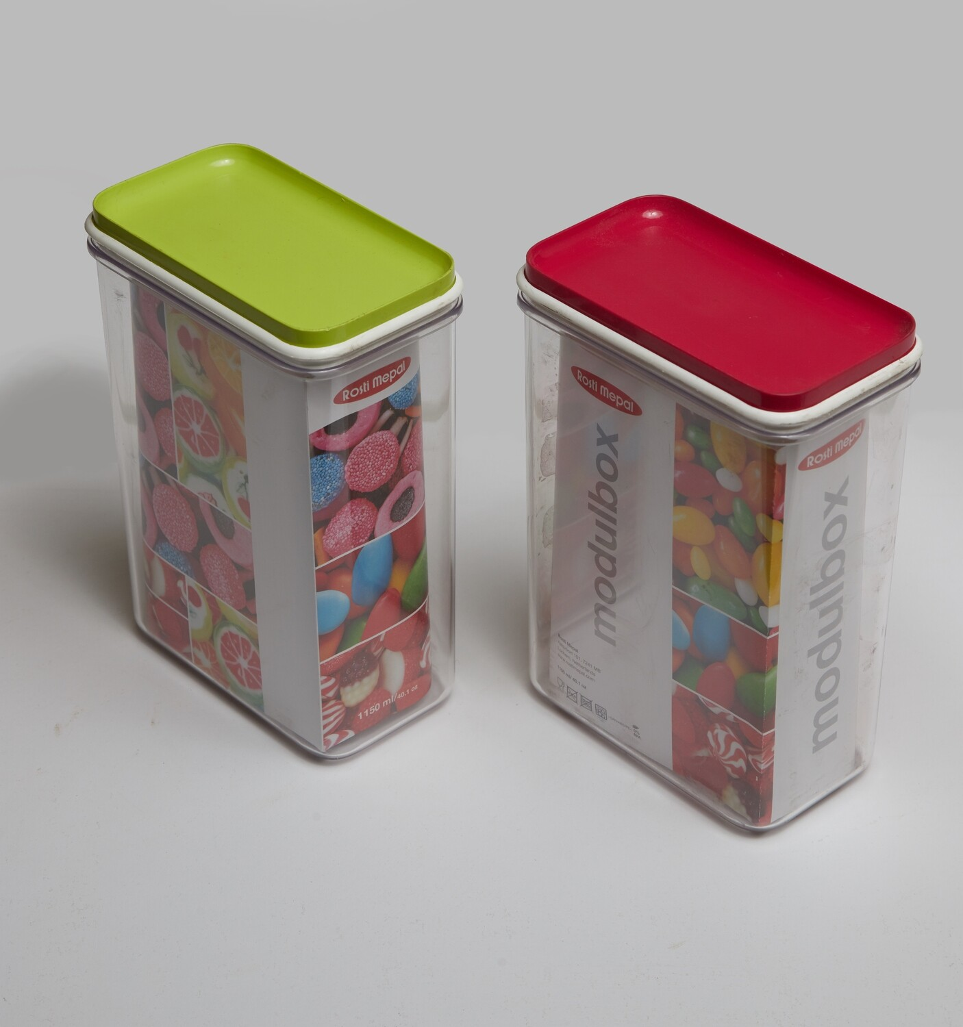 Red storage Containers 1150ML